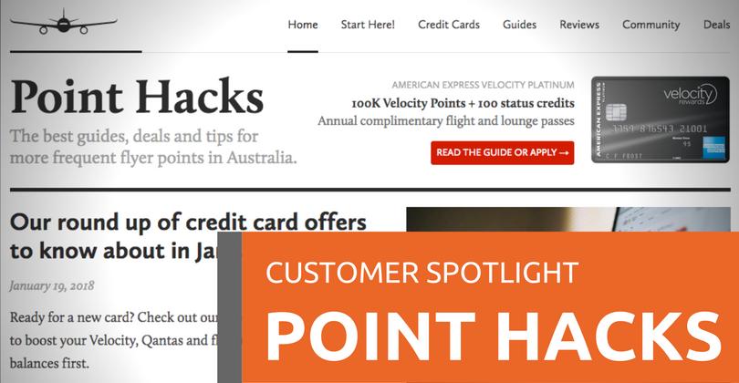 Customer Spotlight: Point Hacks | WP Hosting | WordPress