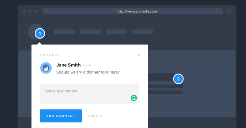 WordPress Plugin: Using ProjectHuddle As Sticky Notes For